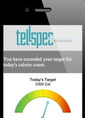 tellspec calorien