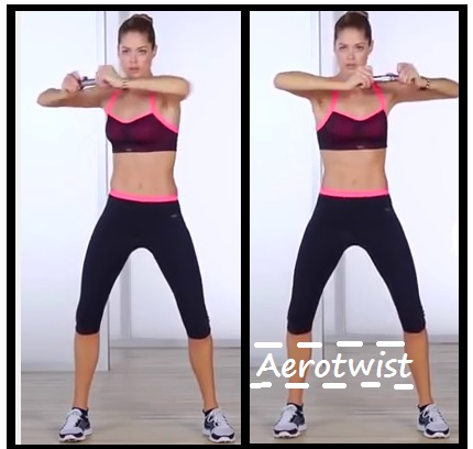 Victoria Secret training abs 6