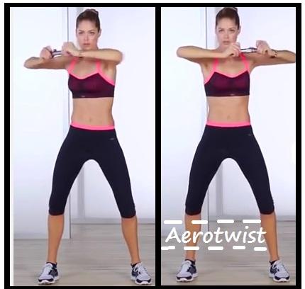 Victoria Secret training abs 6