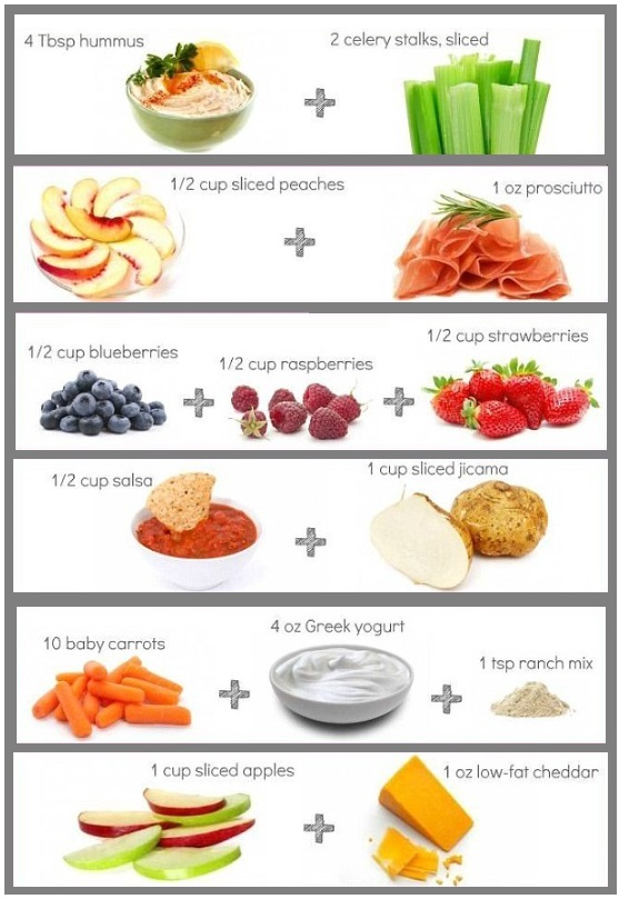 calorie arme snacks 2