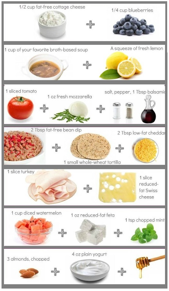 calorie arme snacks