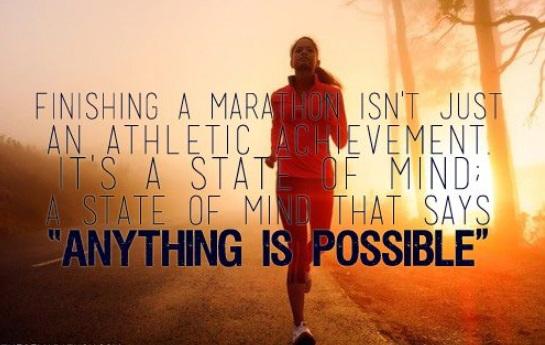 finishing marathon